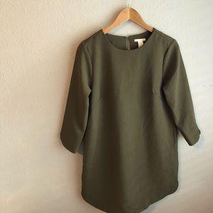 Olive green H&M Dress